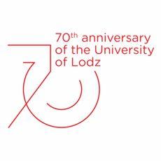 70th Unniversary of Uniwersity of Lodz - logo